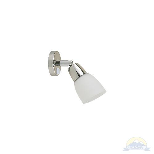 Warm White LED 12 Volt /& 24 Volt Frosted Shade Reading Light Brass Adjustable